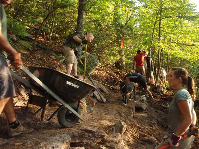 Thursday Trail Work Crew
