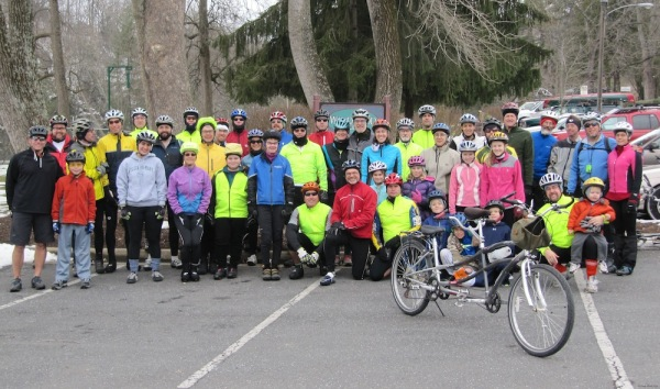 SVBC Icicle Ride, New Year's Day 2013