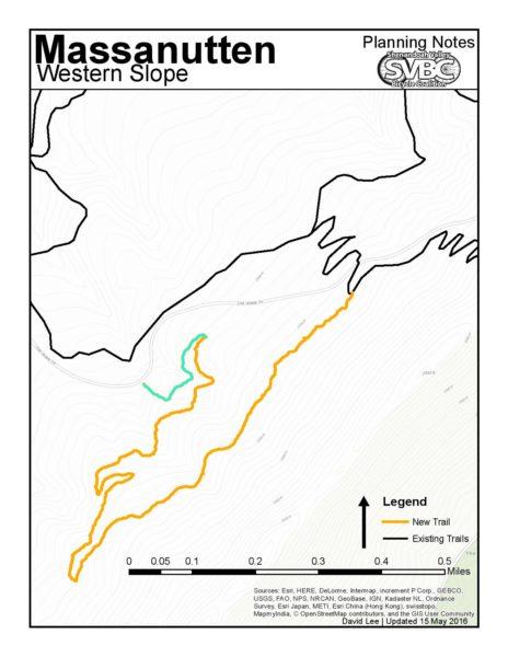 Massanutten New Trail Map