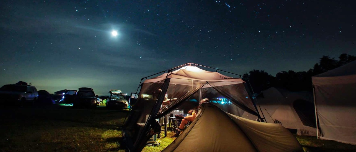 The Shenandoah Mountain 100 is the largest private activity at the Campground happening annually on Labor Day weekend.