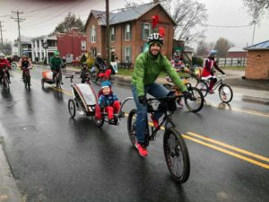 12/7: Ride Bicycles in the Harrisonburg Holiday Parade!