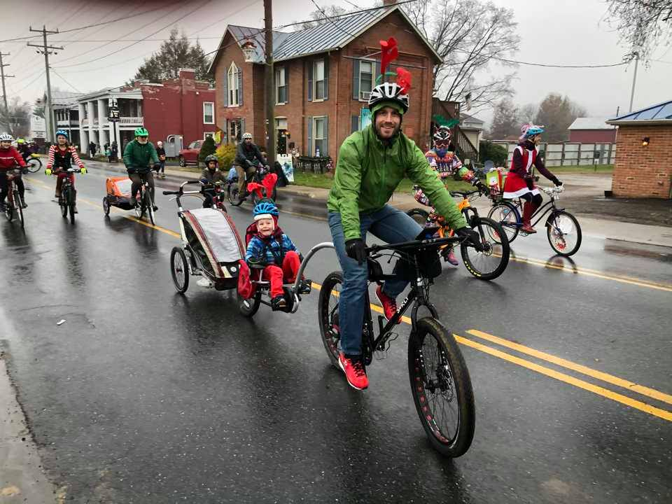 Harrisonburg Christmas Parade 2019 12/7: Ride Bicycles in the Harrisonburg Holiday Parade