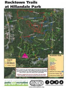 Hillandale Bike Trails