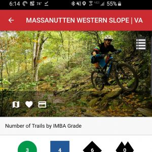 New Day Pass Option for Massanutten Western Slope Trails